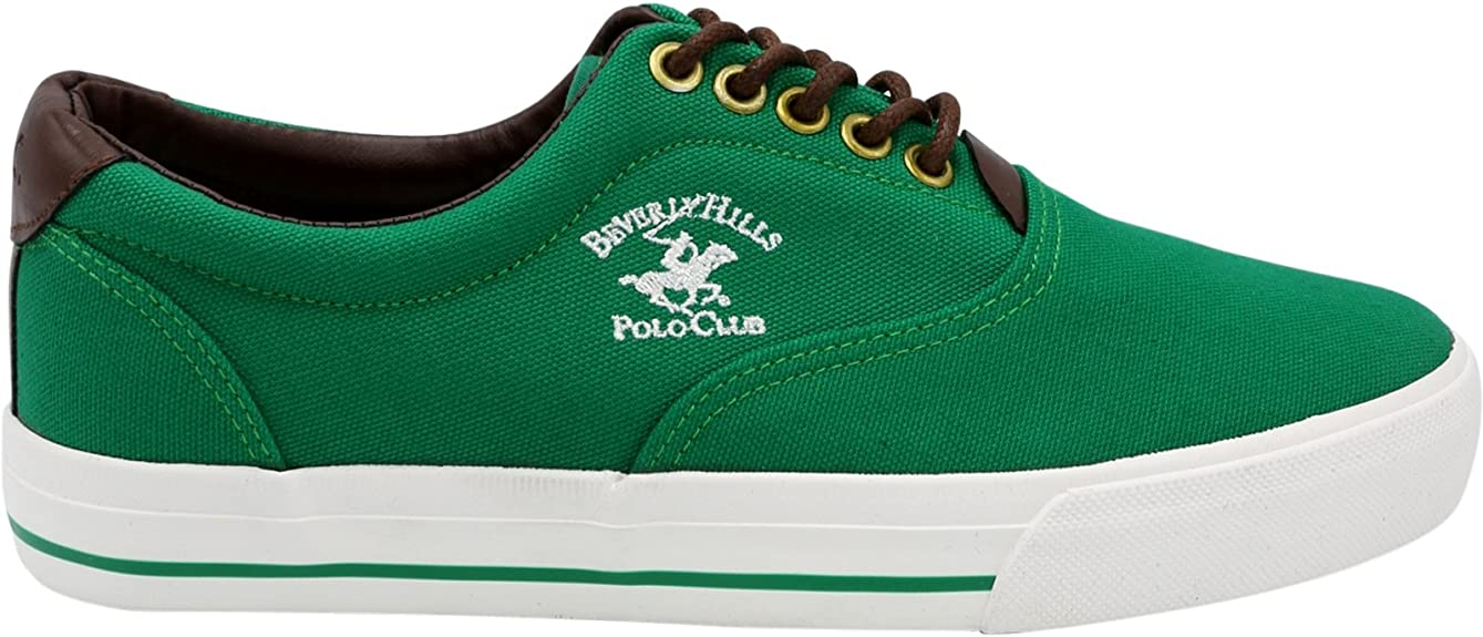 Beverly Hills Polo Club Charles CVO Tenis para Hombre, Verde, 12 ...