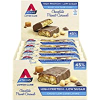 Atkins ADV Peanut Caramel Barritas - Paquete