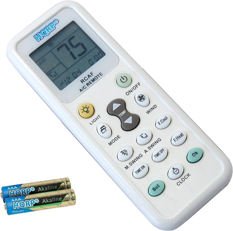 New AMCOR TADIRAN Air Conditioner AC Remote Control