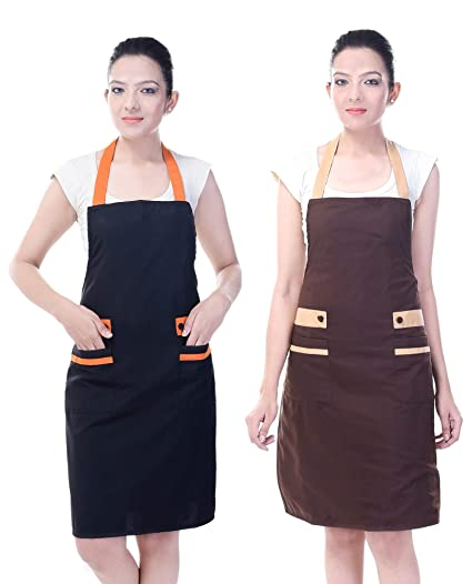 Switchon Waterproof Kitchen Apron Pack of 2