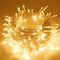 Amazon Price History for:SANJICHA String Lights Indoor/Outdoor, Upgraded Super Bright Christmas Lights with 8 Modes, 66FT 200 LED Waterproof…