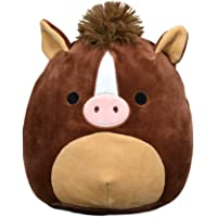 Squishmallow 8 Inch Brisby The Stuffed Animal Horse, Super Pillow Soft Plush Toy, Brown