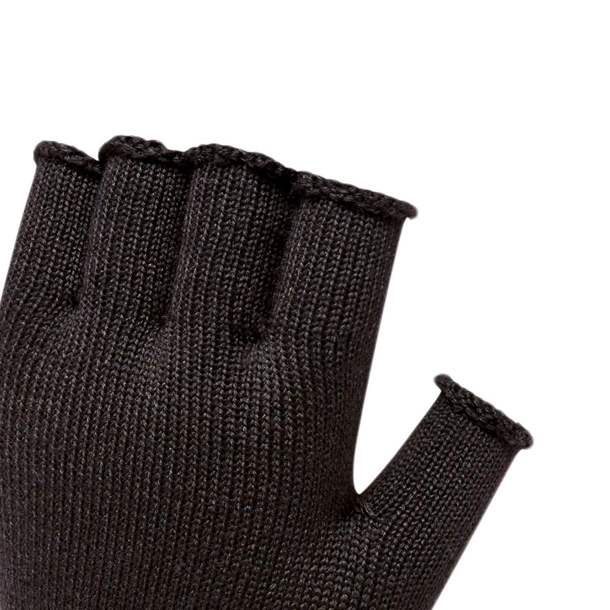 Guantes sin Dedos para Hombre Color Negro Talla /única SEALSKINZ