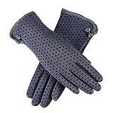 Switchali Le Touch Screen Femmes Sport d'hiver en plein air Coton gants chauds
