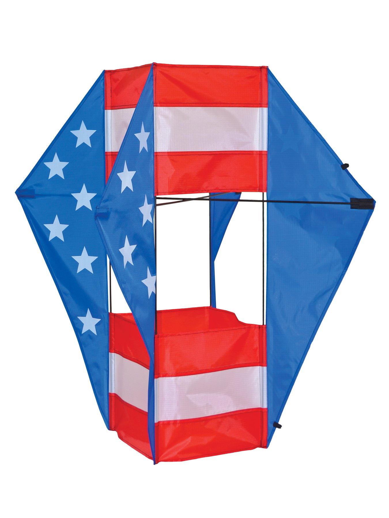 In The Breeze Stars and Stripes Winged Box Kite by In the Breeze