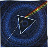 GUPENG Pink Floyd Music Rock The Dark Side Of The Moon Cache-cou en microfibre