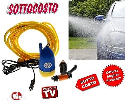 Kit compresor Hidrolimpiadoras Depósito Lavado coche pistola Bomba 12 V 80 W