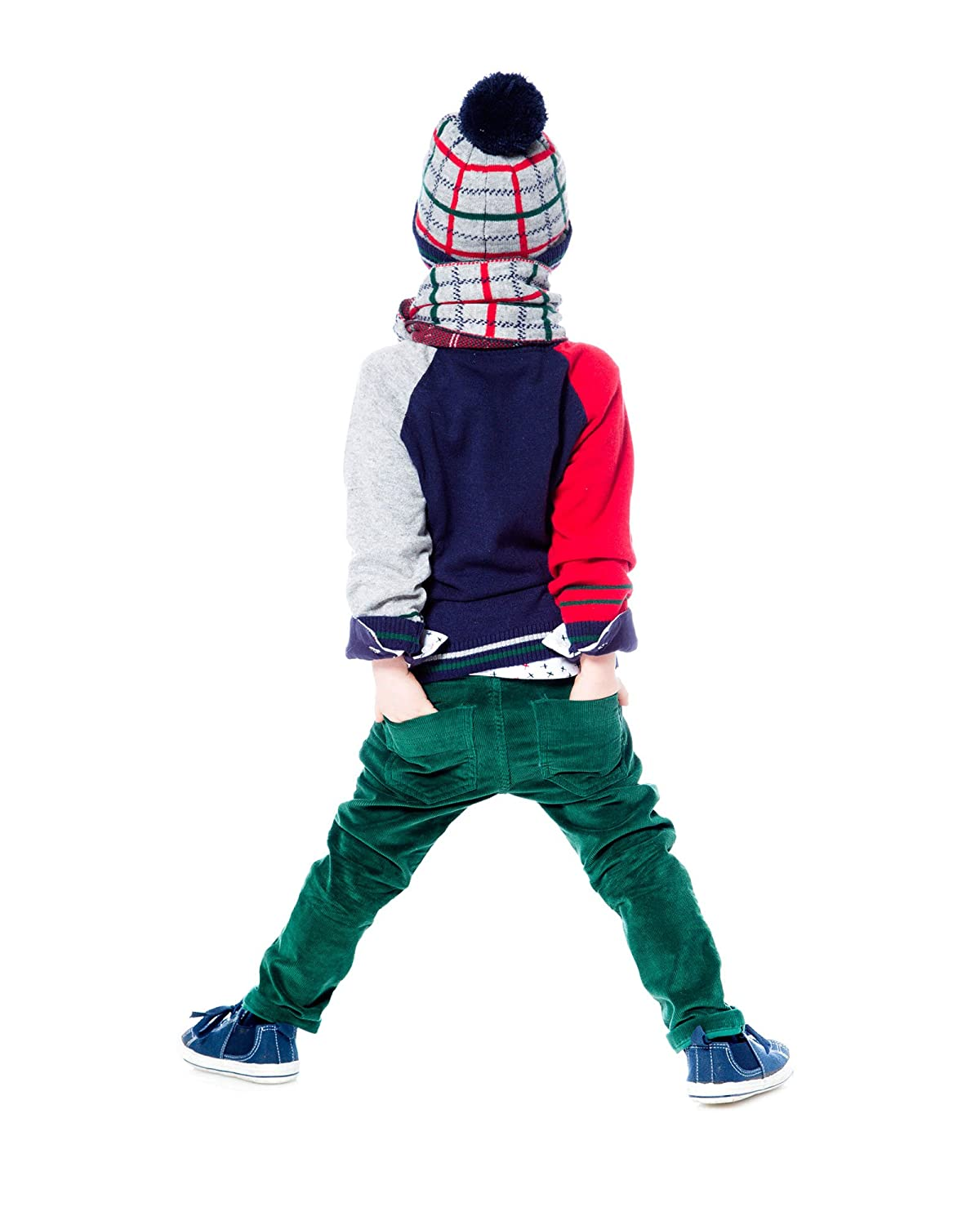 Sizes 18M-6 Deux par Deux Boys Sweater Oh Yeah!