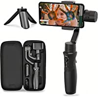 Hohem 3-Axis Gimbal Stabilizer for Smartphone iSteady Mobile Plus Gimbal Handheld with Vlog Youtuber Live Video Record…
