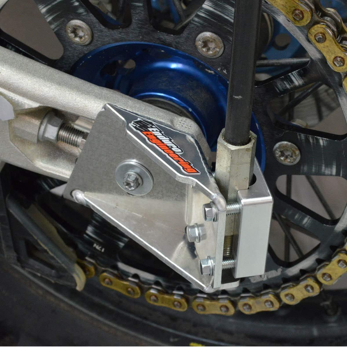 Safety Flag Whip Rear Axle Mounting Bracket Motorcycle Dirt Bike ATV Motocr...