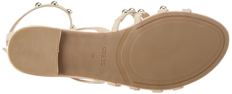 Guess Damen Footwear Dress Sandale Sandale Dress RiemchenSandale, SchwarzElfenbein (Light Natural Natur) 08e884