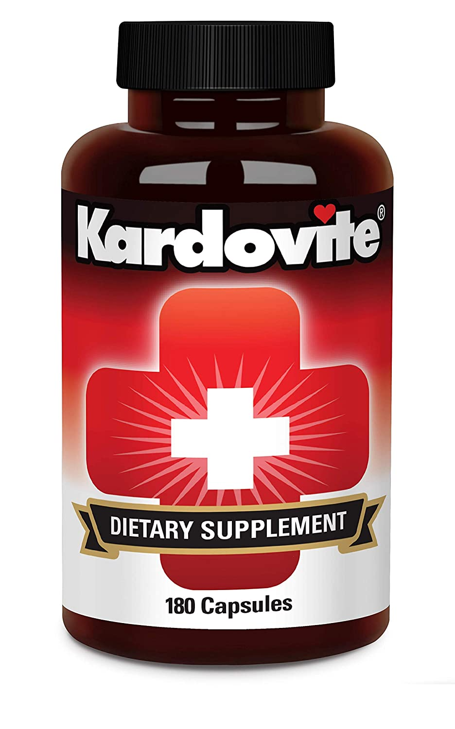 Supplement to Support Circulation Healthy Cardiovascular Function. Supports Already Normal Blood Pressure Strong Blood Vessels. Original Kardovite Capsules By Pharmacist Sam Ibrahim. 60 Day Supply