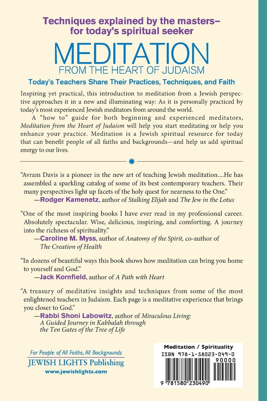 Meditation from the Heart of Judaism: Amazon.co.uk: Avram Davis ...