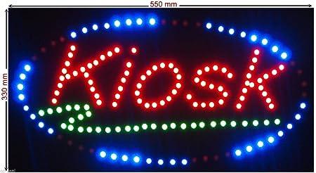 C&K LED Cartel XL Kiosk Placa publicitaria (Leuchtreklame ...