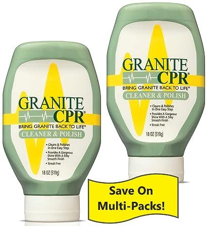 Granite Cpr Cleaner Polish Sealant 18 Oz 2 Pack Best Granite