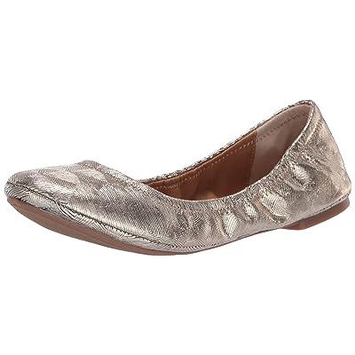 Lucky Brand Women's LK-Emmie, Platinum, | Flats