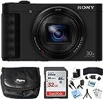 Sony Cyber-Shot HX80 Compact Digital Camera with 30x Optical Zoom Black