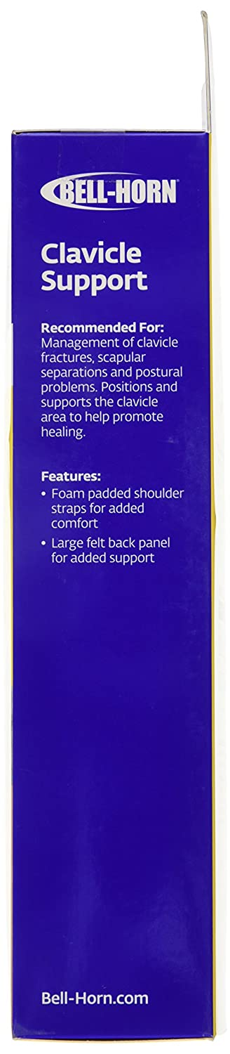 Amazon.com: Bell-Horn Clavicle Posture Support Brace, Medium: Health & Personal Care