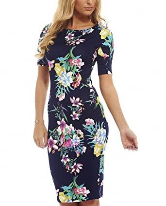 Women Dress Vestidos Summer Print Sexy Plus Size Work Business Casual Party Sheath Beige XXXL