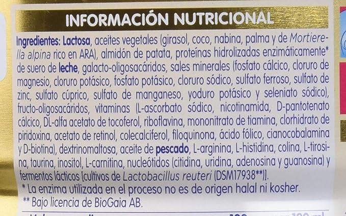 NAN Transit A.E. - Alimento en polvo para lactantes con estreñimiento - Fórmula para bebé - Desde el primer día - 800g: Amazon.es: Alimentación y bebidas