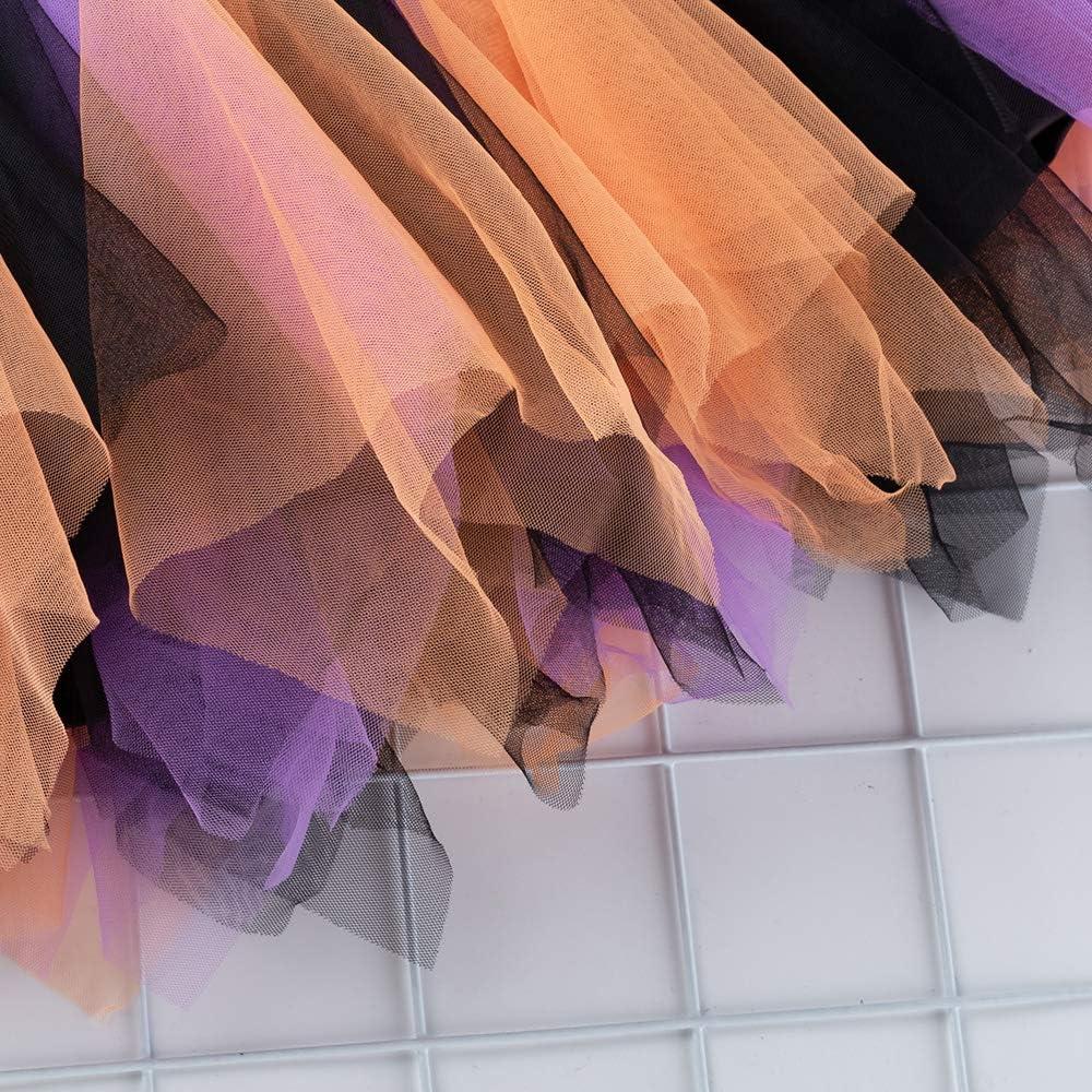 Yukeyy 2-7 Year Old Girls Multi-Layer Tutu Skirt Kids Ballet Dance Skirt Toddler Childrens Skirt