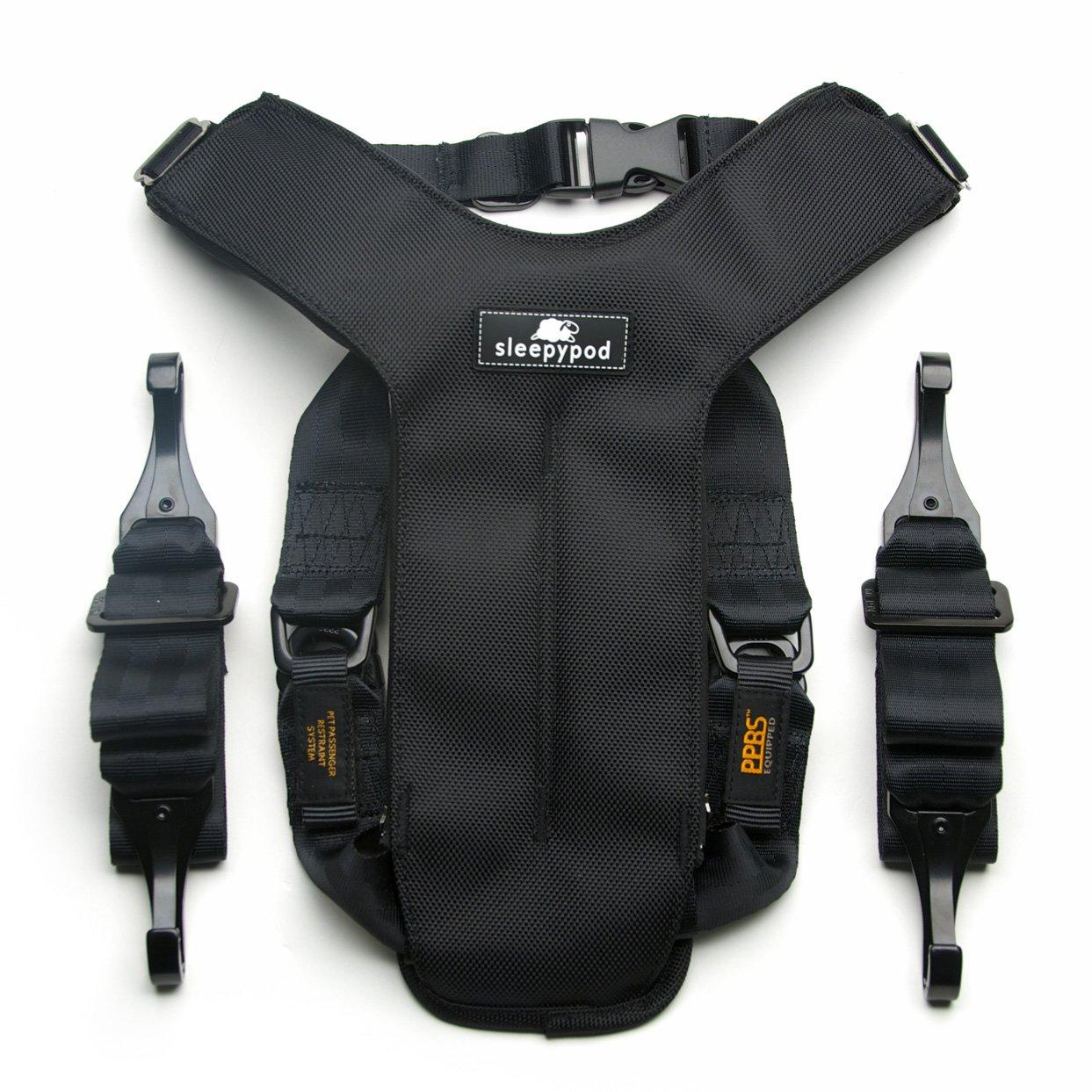 ClickIt Utility Dog Safety Harness - Safest Crash-Tested Car Harness by Sleepypod (Medium, Black)