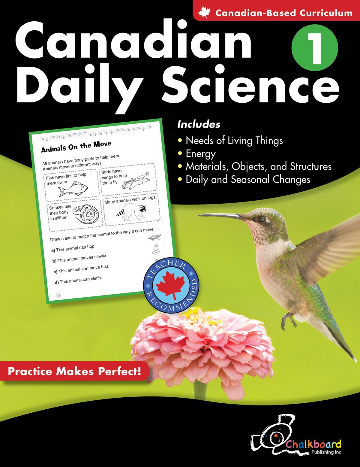 Canadian Daily Science Grade 1: Janis Barr, Rita Vanden Heuval ...