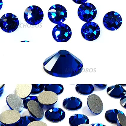 115112c03 CAPRI BLUE (243) Swarovski NEW 2088 XIRIUS Rose 20ss 5mm flatback No-Hotfix