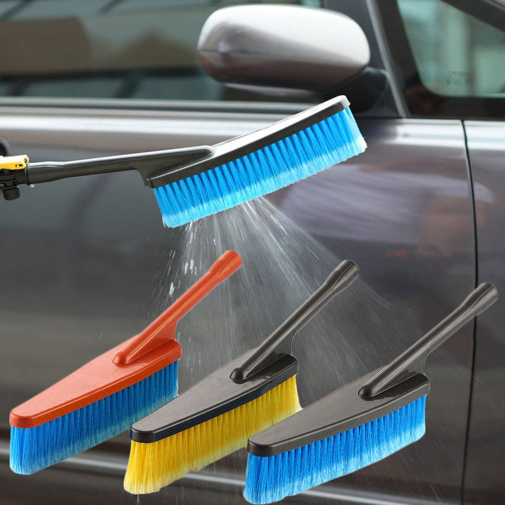 MAZIMARK--Universal Multifunctional Car Washing Brush Clean Glass Window Short Handle LO