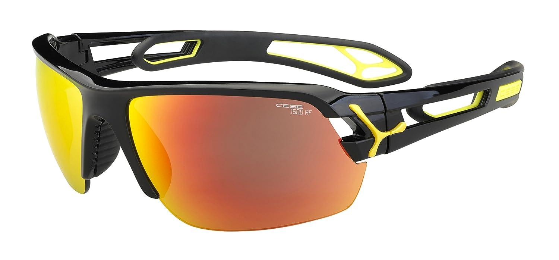 Cébé S track Lunettes de soleil Shiny Black Taille M  Amazon.fr  Sports et  Loisirs 650e15d6c7e1