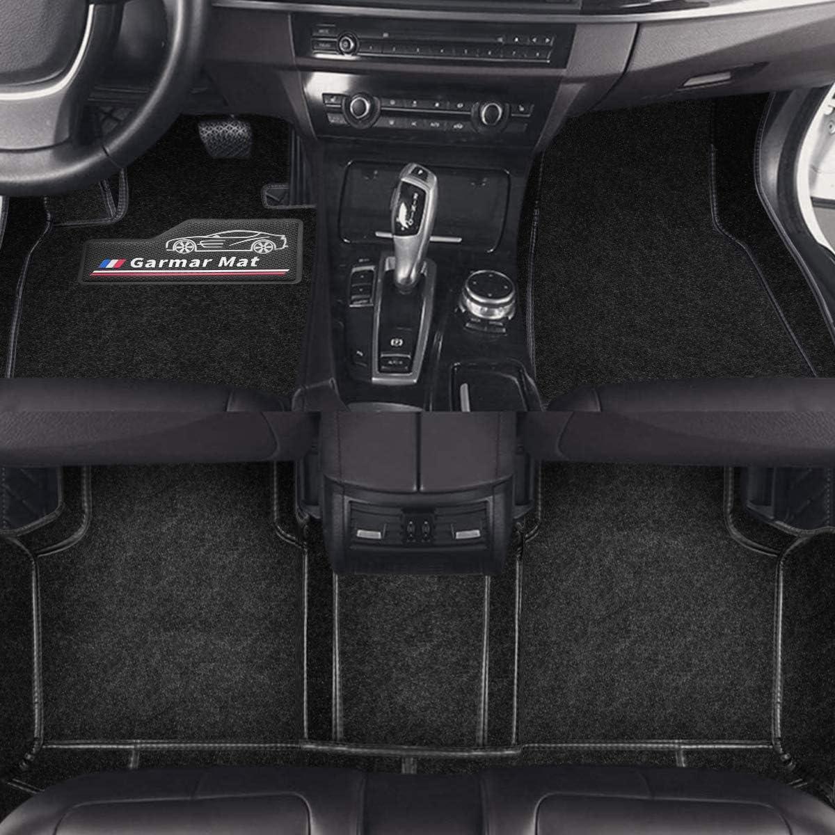 Garmar Floor Mats for Chrysler 300,All Weather Custom Full Set Fit Front /& Rear 2 Rows Carpets Car Floor Cargo Liner for 6th Generation 2016-2020 Chrysler 300,Chrysler 300 Mats
