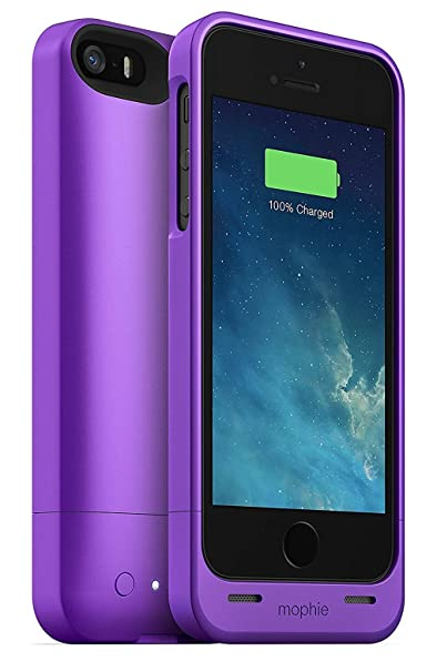 promo code f1747 7ca25 mophie Juice Pack Helium - iPhone 5/5s/SE Purple, One Size