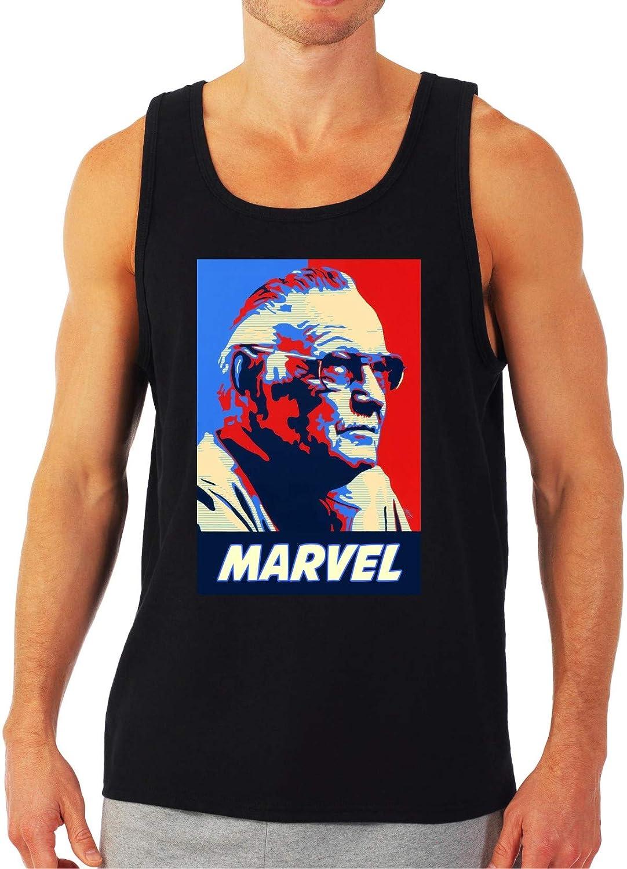 RIP Stan Lee Marvel Black Tank Top