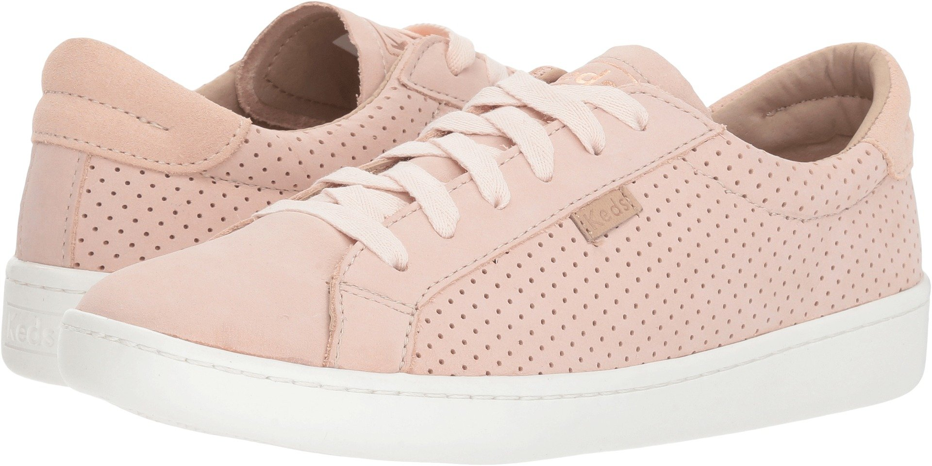 Keds Women's X Design Love Fest Ace Perf Leather Blush 8.5 B US