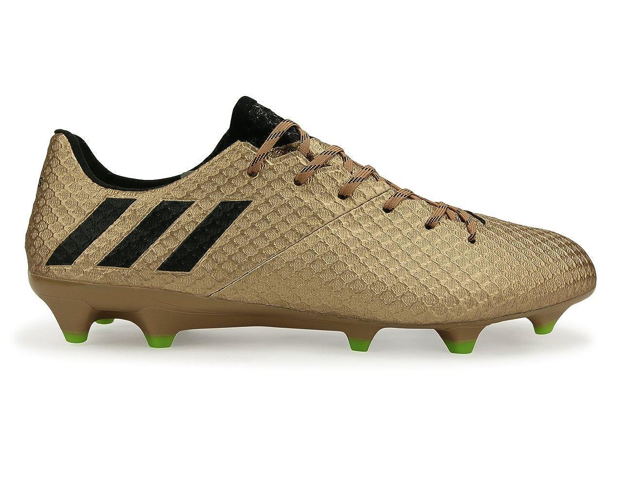 5fb01e5ec Amazon.com | adidas Men's Messi 16.1 FG Copper Metallic/Core Black/Solar  Green Soccer Shoes | Soccer