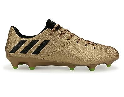 7b8df76b7 Adidas Men's Messi 16.1 Fg Copper Metallic/Core Black/Solar Green Soccer  Shoes -