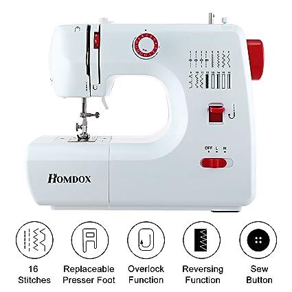 Amazon Homdox Portable Household Lightweight Multifunction Mesmerizing Lightweight Portable Sewing Machine
