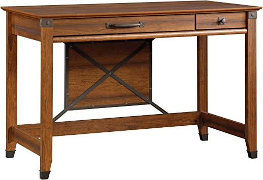 Amazon Com Sauder Carson Forge Writing Desk Washington Cherry