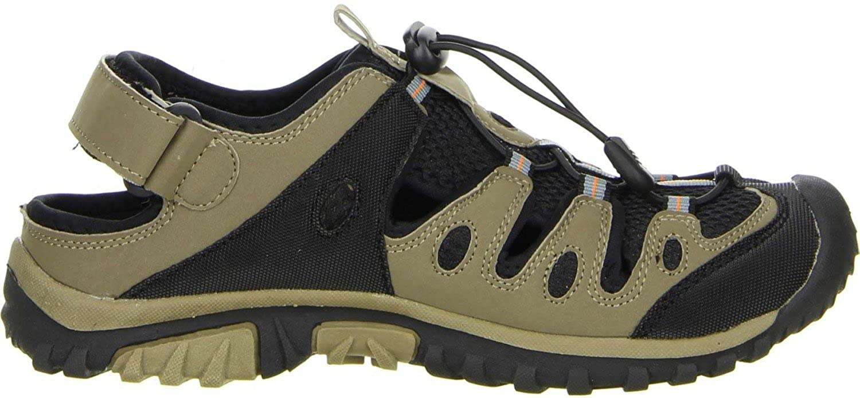 ConWay Damen Trekkingsandalen beige, Größe:38, Farbe:Beige