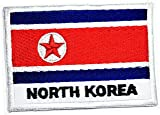 North Korea Flag Patch Military Tactical Country