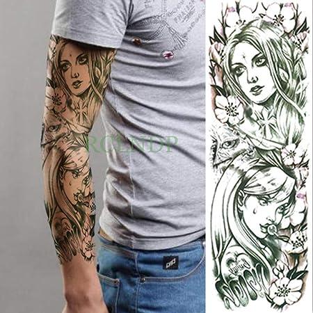 ljmljm 5 Piezas Pegatinas de Tatuaje a Prueba de Agua Dragon Fire ...