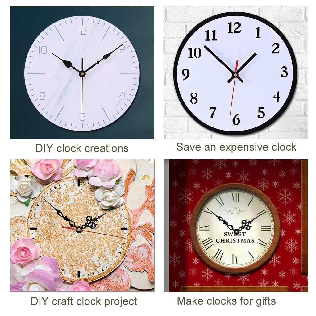 EMOON Clock Movement Mechanism with 3 Pack Clock Hands Custom ...
