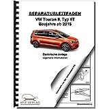 VW Touran 5T ab 2015 4-Zyl 1,6/2,0l Dieselmotor TDI 90-190