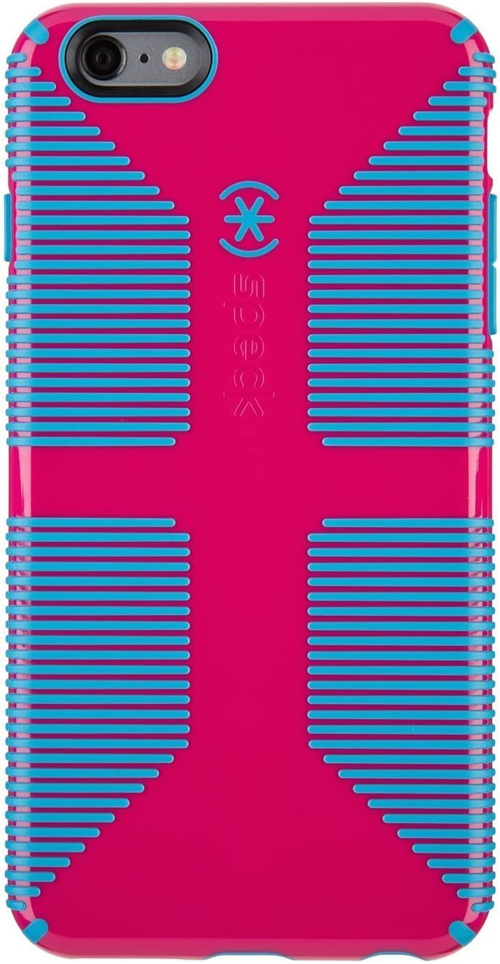 Speck Products CandyShell Grip Case for iPhone 6 Plus/6S Plus - Lipstick Pink/Jay Blue
