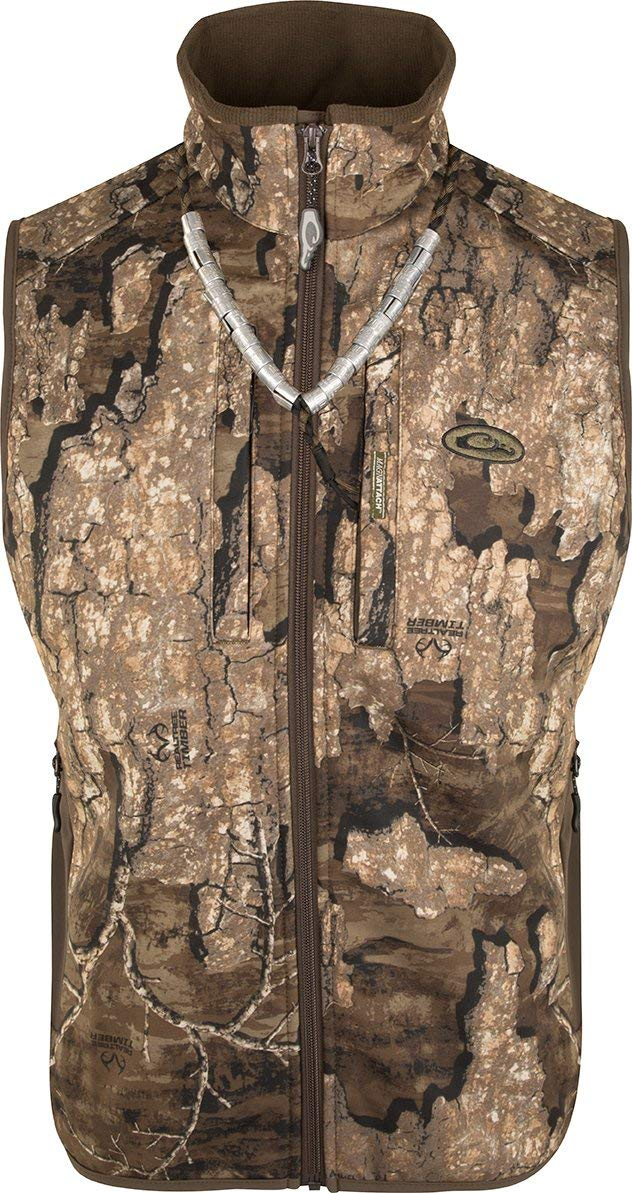 Drake Windproof Tech Vest Realtree Timber 3XL by Drake