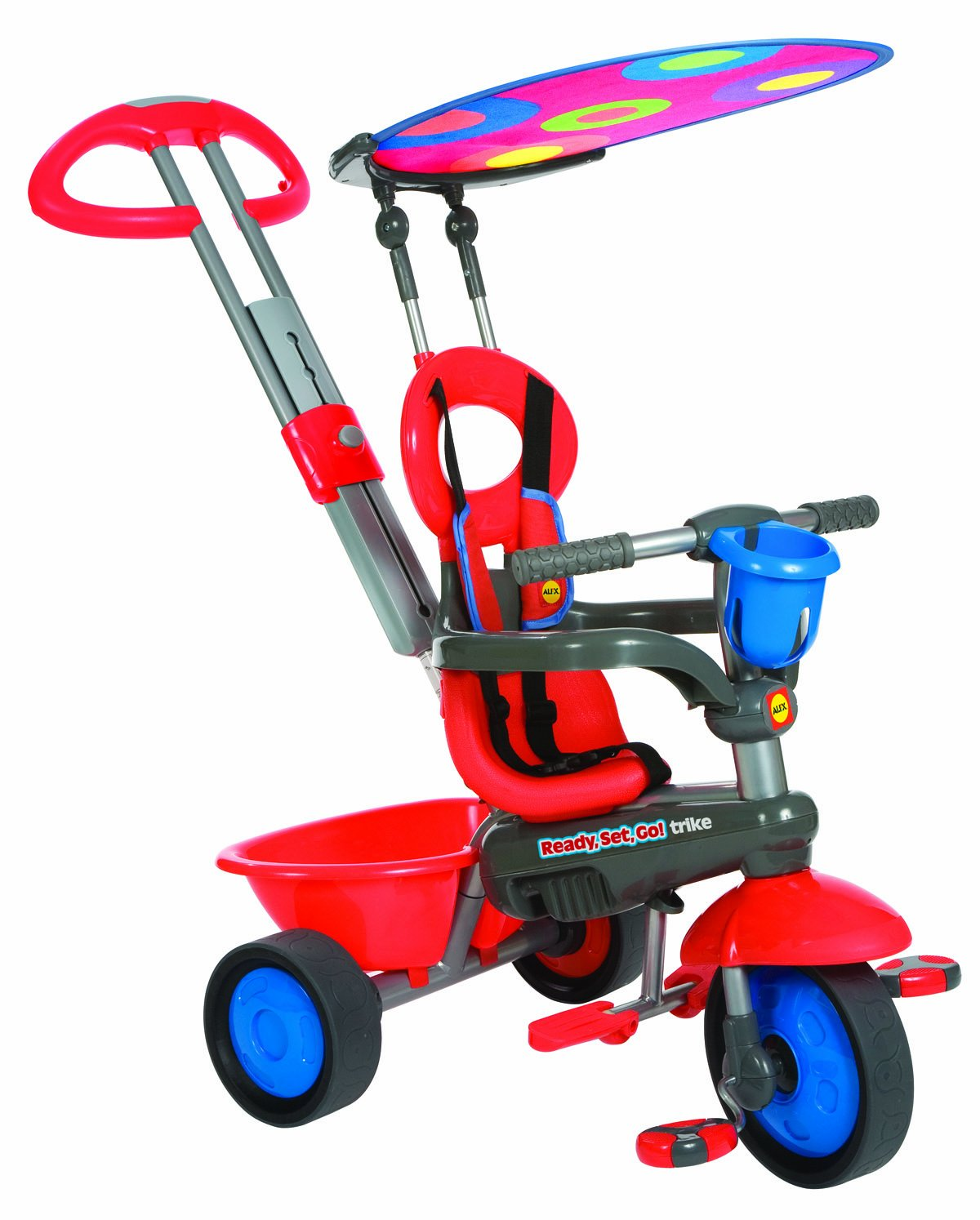 ALEX Toys Ready, Set, Go! Red Trike