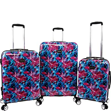 BEBE Women s Tina 3pc Spinner Suitcase Set baacce96c2