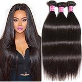 Longqi Top Quality Brazilian Ombre Virgin Straight Hair 3 Bundles 7a Remy Silky Straight Hair Weave
