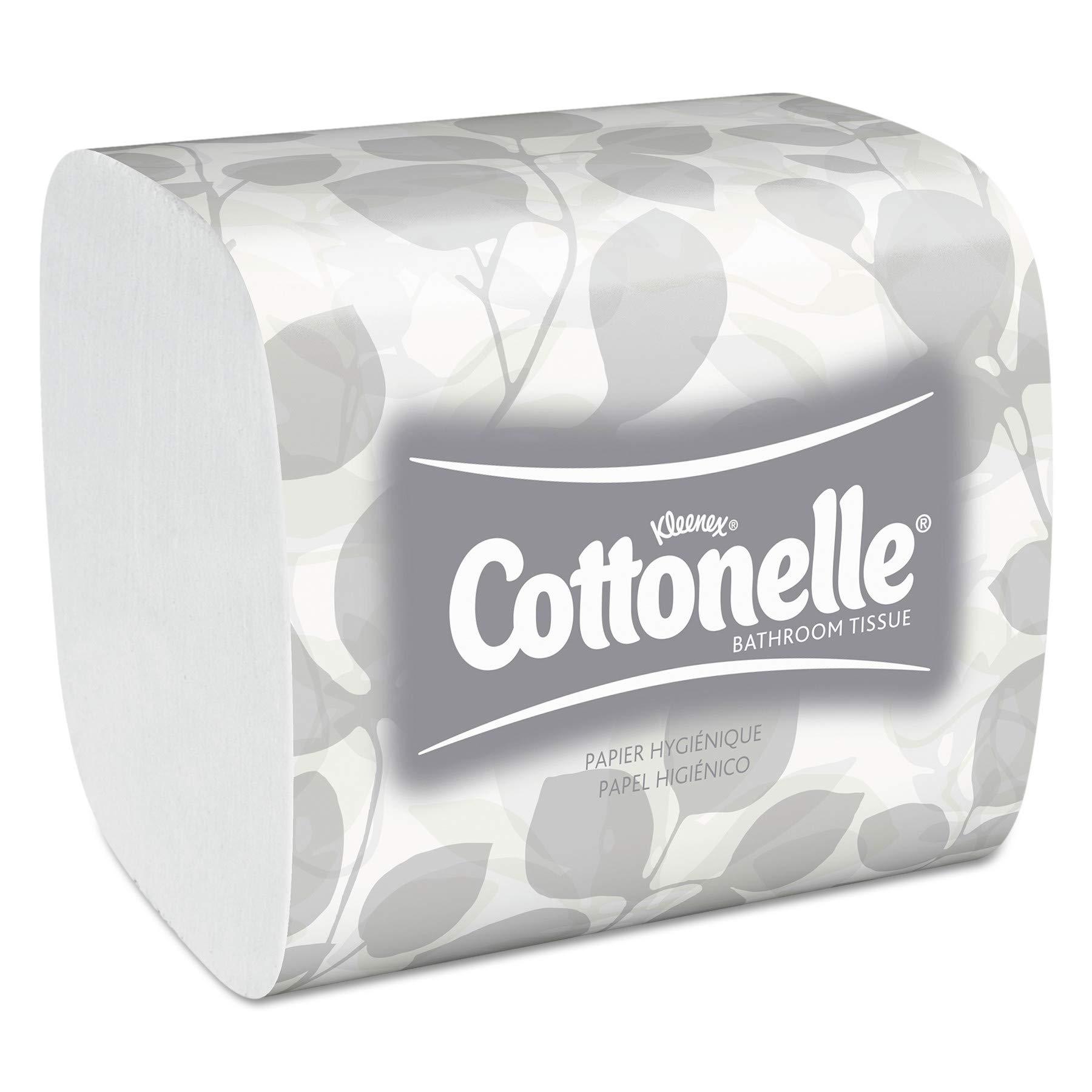 Scott 48280 Control Hygienic Bath Tissue, 2-Ply, 250 per Pack (Case of 36 Packs) by Scott