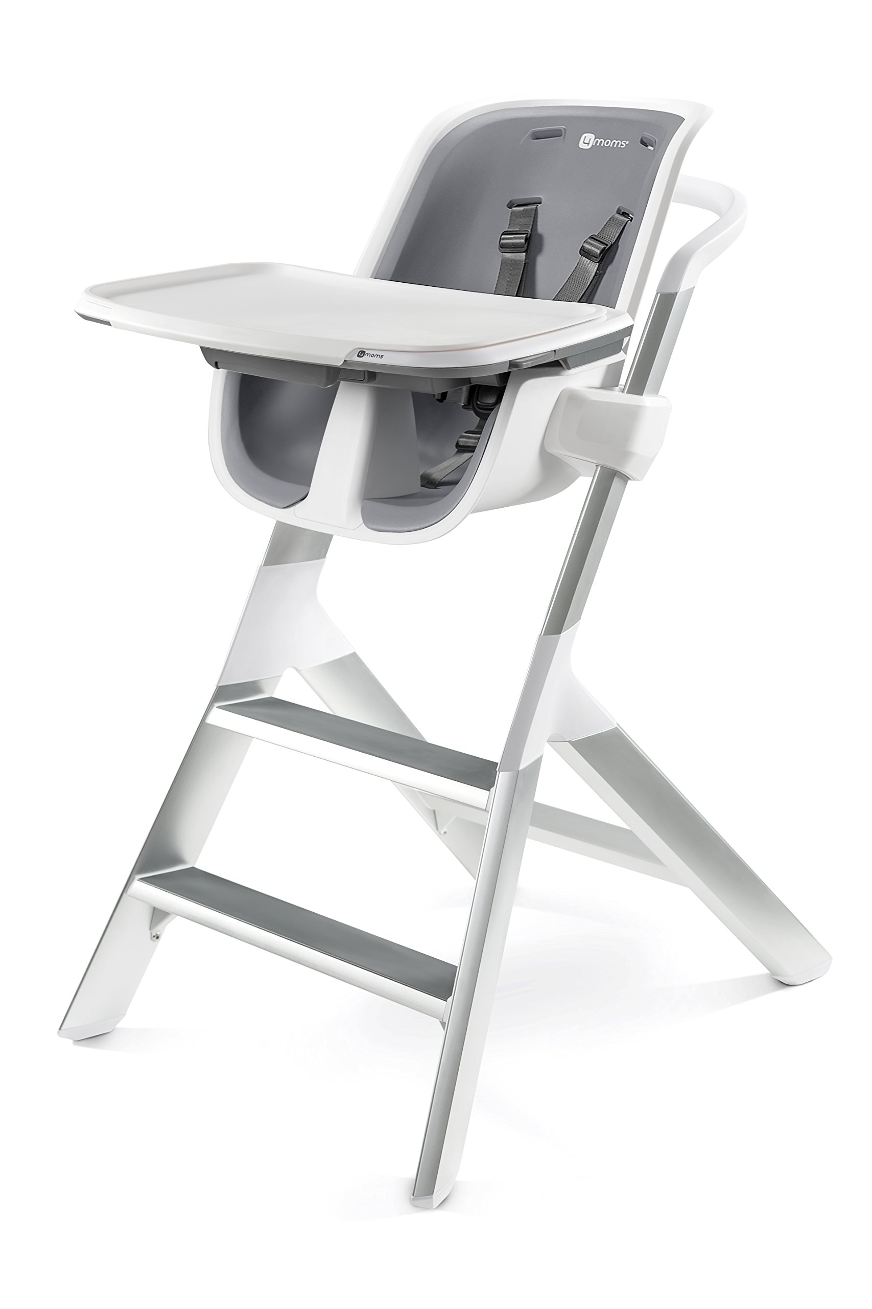 4moms high Chair - Easy to Clean with Magnetic, one-Handed Tray Attachment, from The Makers of The mamaRoo by 4moms